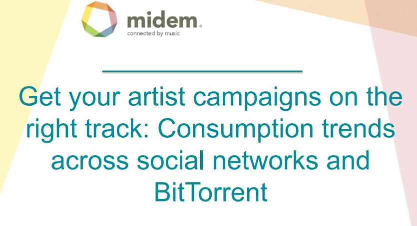 MusicMetric: Tendencias de Consumo en las redes sociales y BitTorrent 2012