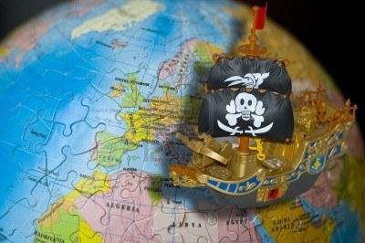 piratas por el mundo