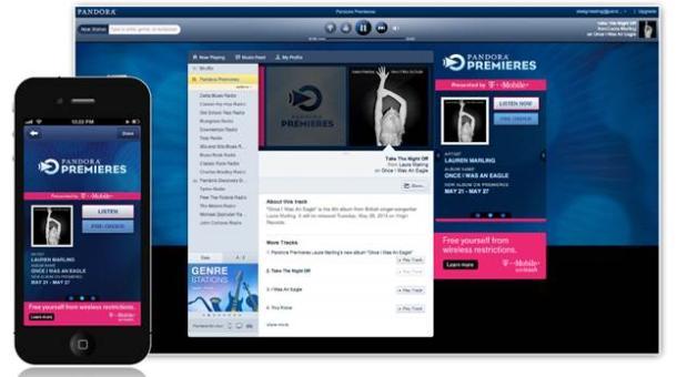 Pandora lanza «Pandora Premieres»