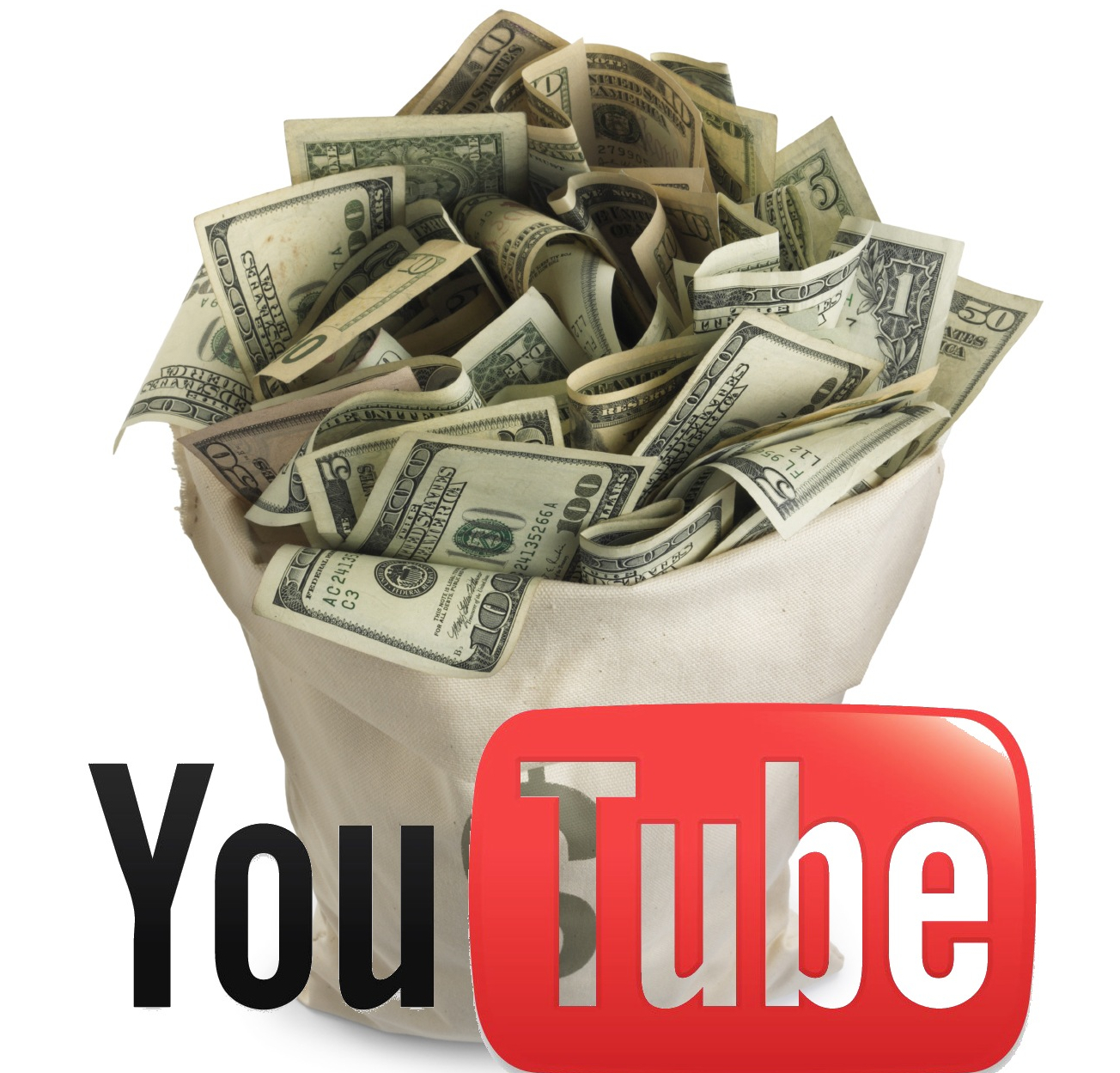 Infografía: Cómo hacer dinero con YouTube