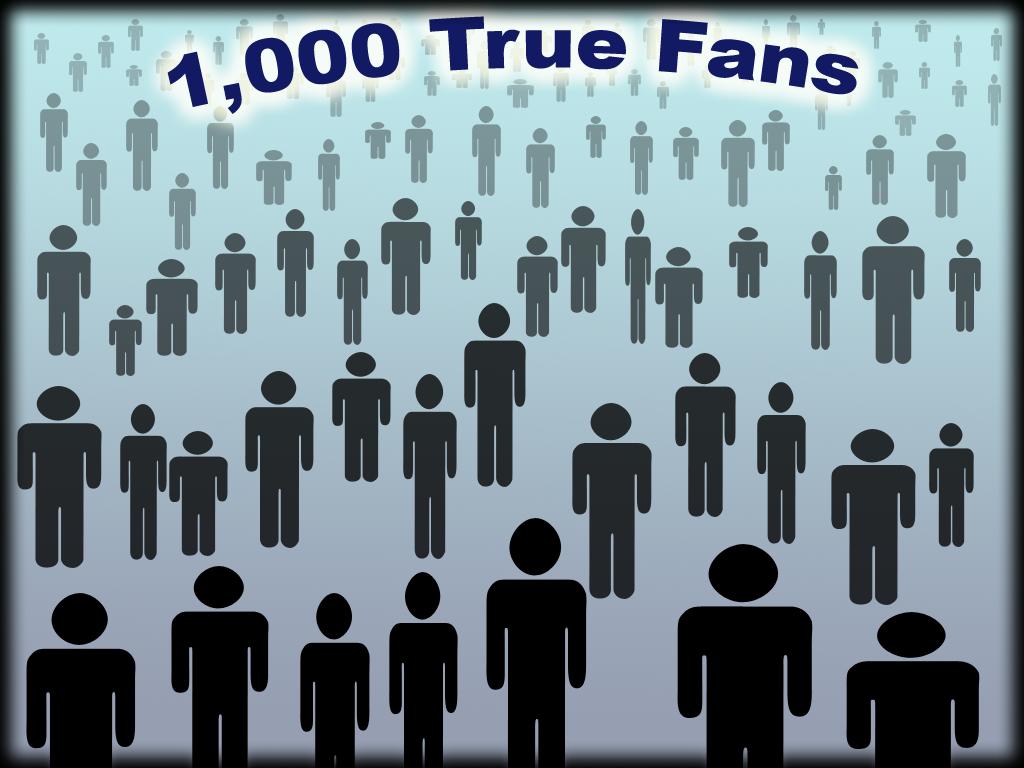 La Teoría de los ¨1000 True Fans¨