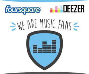 Deezer y Foursquare se unen para crecer y expandir sus servicios internacionalmente