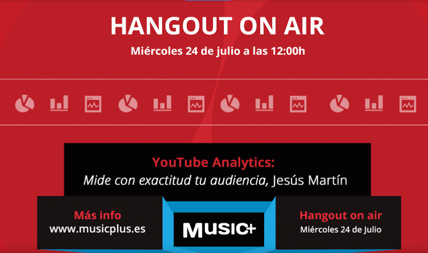 "Google Music+ ""YouTube Analytics: mide con exactitud tu audiencia"""