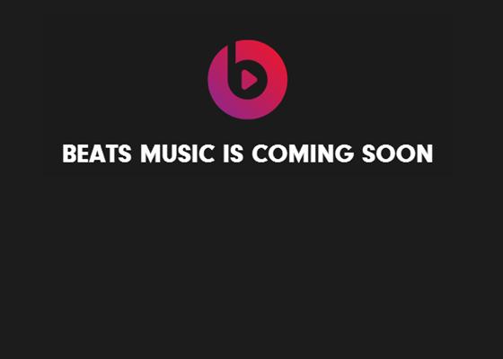 El nuevo servicio de streaming Beats Music está cada vez más cerca