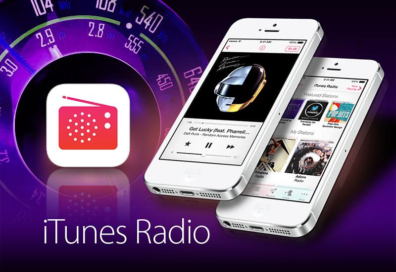 Nuevas cifras de iTunes Radio