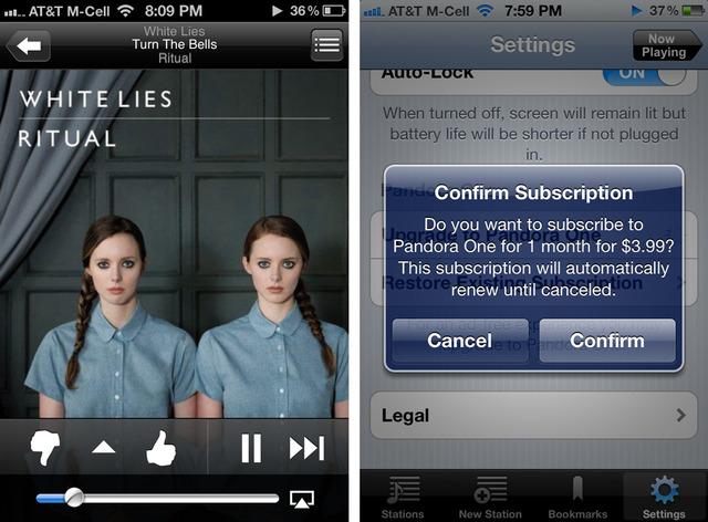 Pandora eliminará el límite de escucha móvil