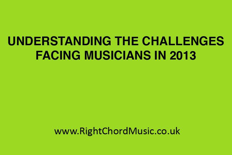 Los desafíos de los músicos en 2013