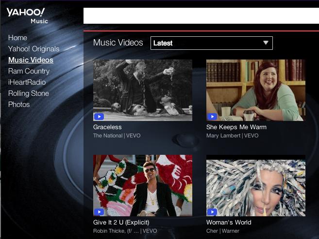 Yahoo! Music se asocia con The Echo Nest