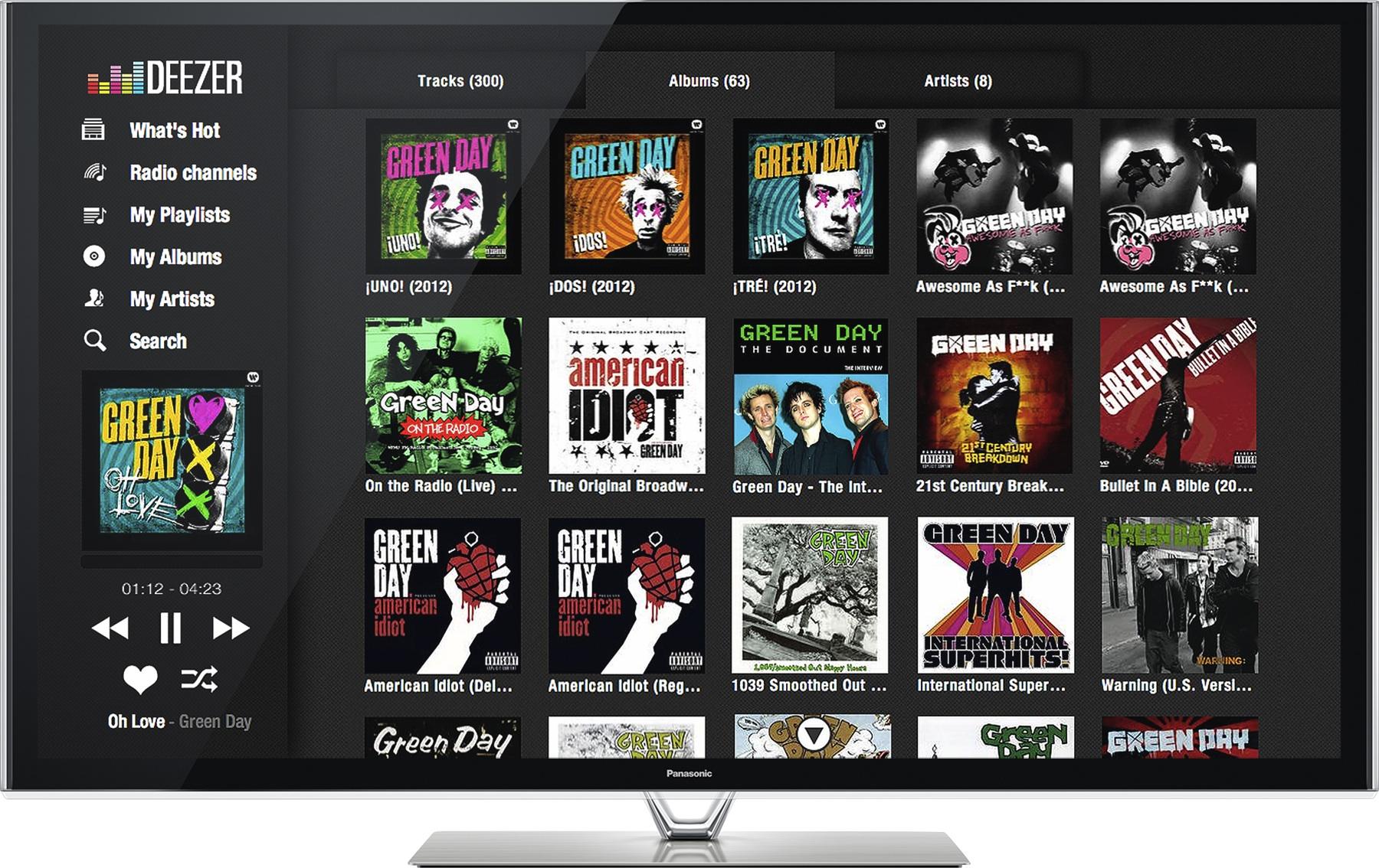 Deezer expande su estrategia Smart TV