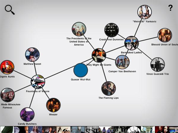 Discovr, descubre música con un mapa conceptual