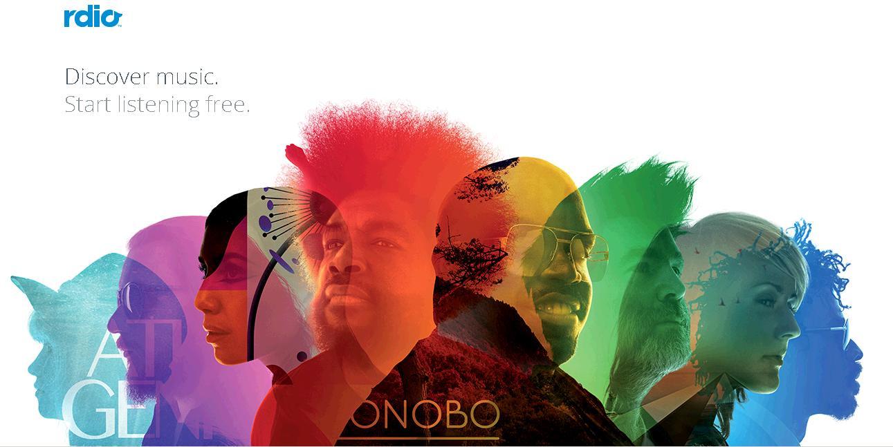 Shazam reproducirá canciones completas a través de Rdio
