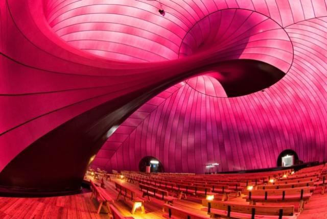 Ark Nova la primera sala de conciertos inflable móvil del mundo