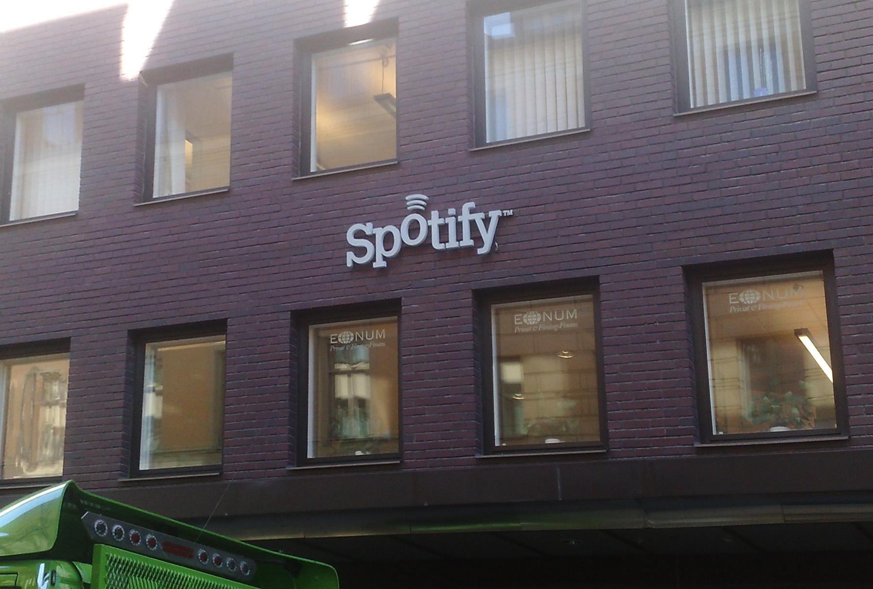 Spotify UK revela sus cifras de 2012