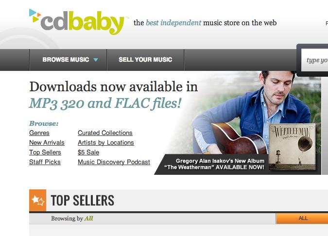 CD Baby ha pagado 300$ millones a los artistas