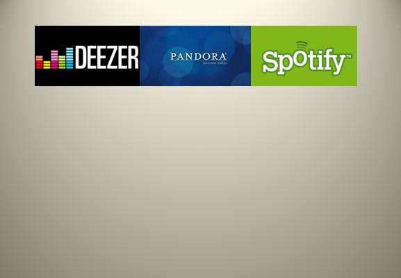 Deezer vs Pandora vs Spotify según el raking de Alexa