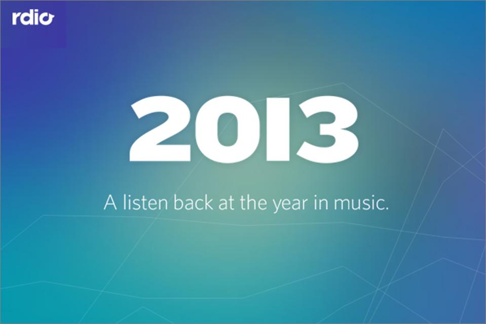 Rdio presenta lo mejor del año y su lista de artistas para el 2014