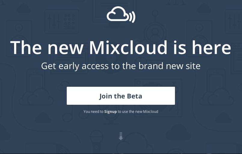 Mixcloud lanza una nueva versión