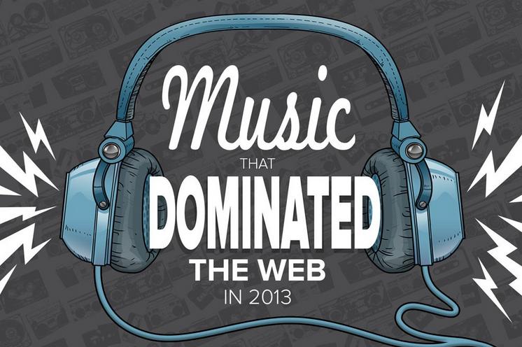 La música que ha dominado la web en 2013 según Bing y Mashable