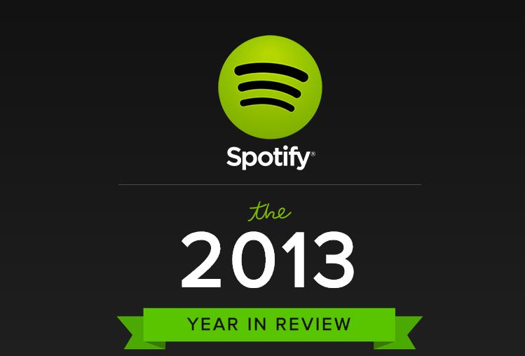 Un repaso de Spotify durante 2013