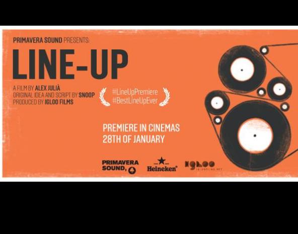 """Primavera Sound se reinventa y presentará su cartel a través del film """"Line-Up"""""""