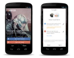 Deezer Google