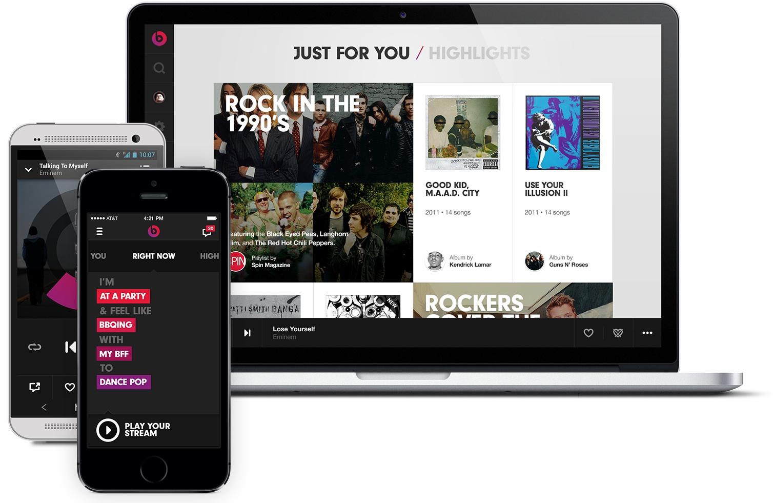 Beats Music se lanzará el 21 de Enero
