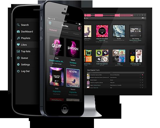 Revibe el Spotify para DJ's y fanáticos de música electrónica