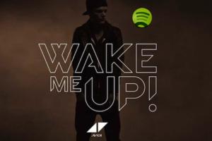 Avicii Wake Me Up canción más sonada en Spotify