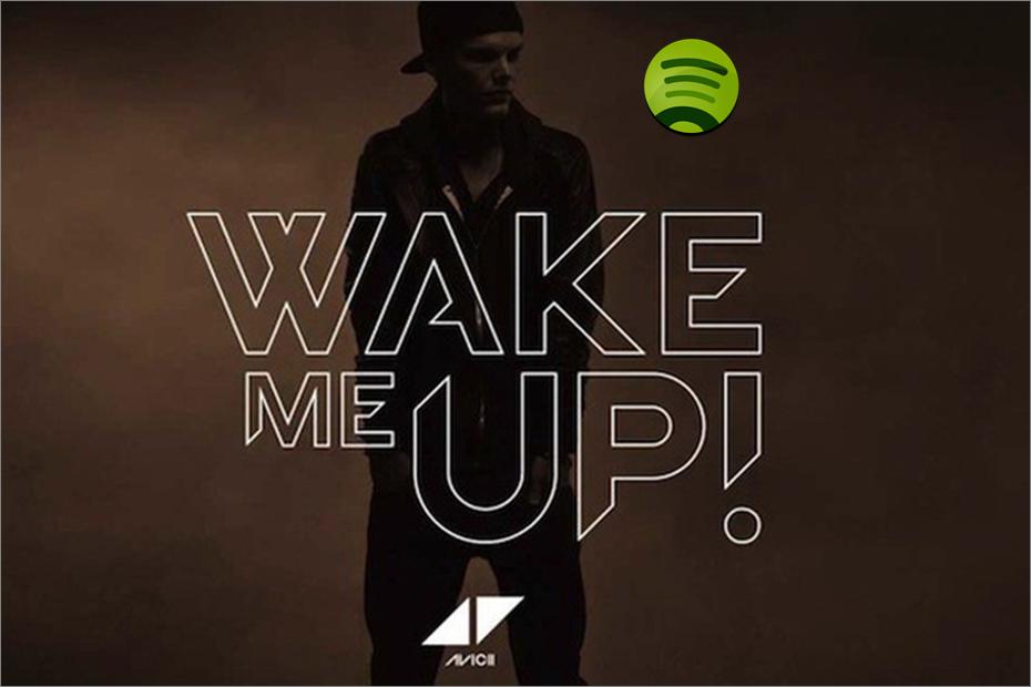 'Wake Me Up' de Avicii se convierte en la canción más escuchada en la historia de Spotify