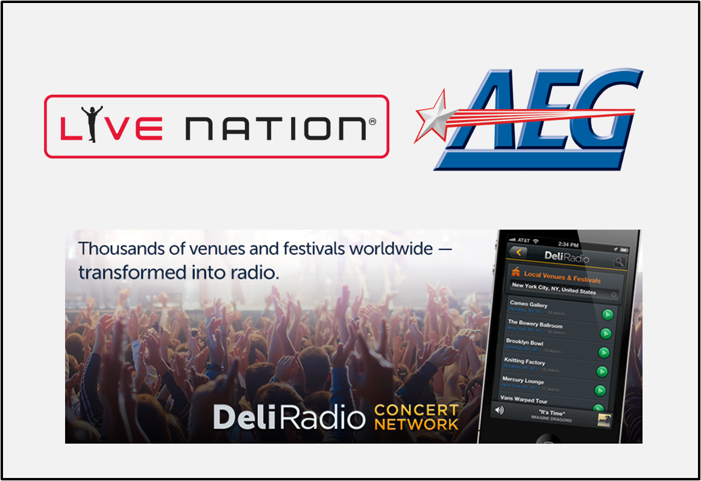 Live Nation y AEG Live buscan nuevas formas de vender entradas a través del streaming