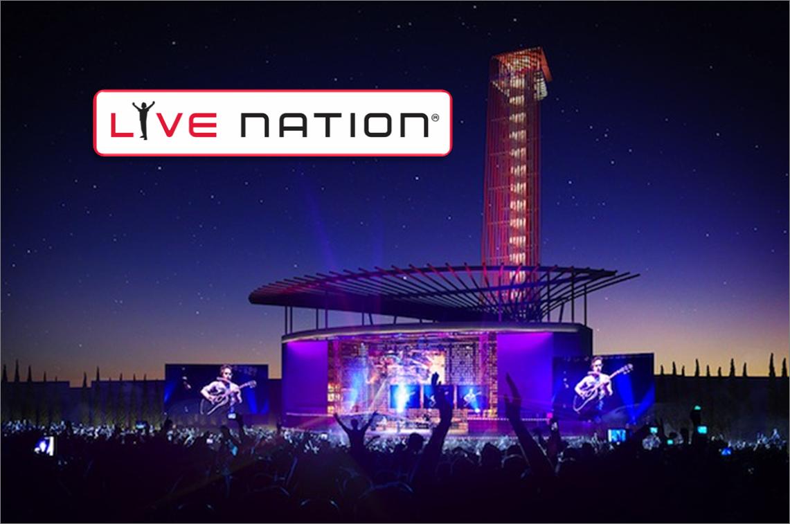Live Nation reporta ingresos históricos por valor 7.200$ millones en 2015