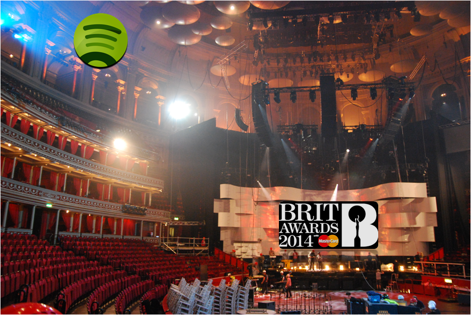 Spotify Brit Awards