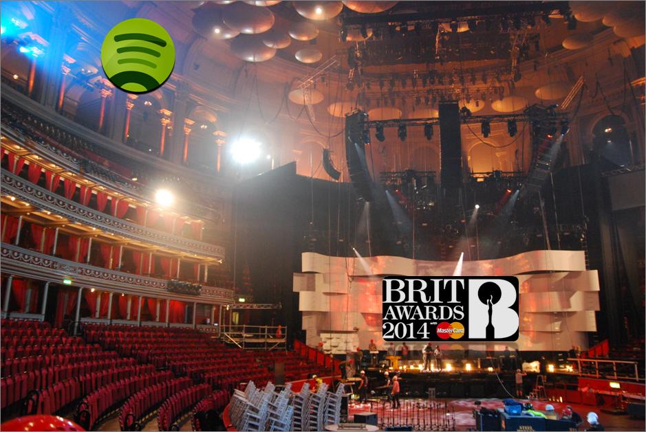 Los BRITs Awards impulsan el consumo de música en Spotify