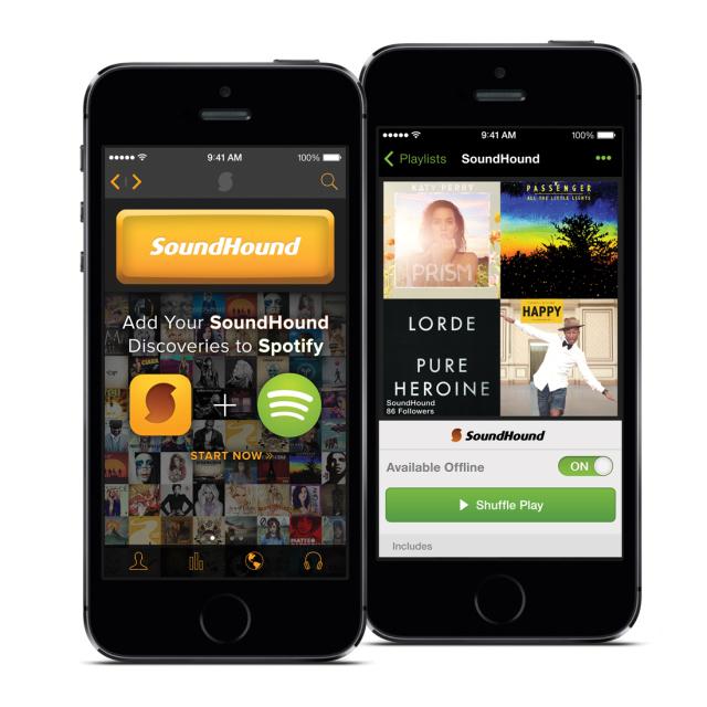 Spotify mejora su integración con Soundhound