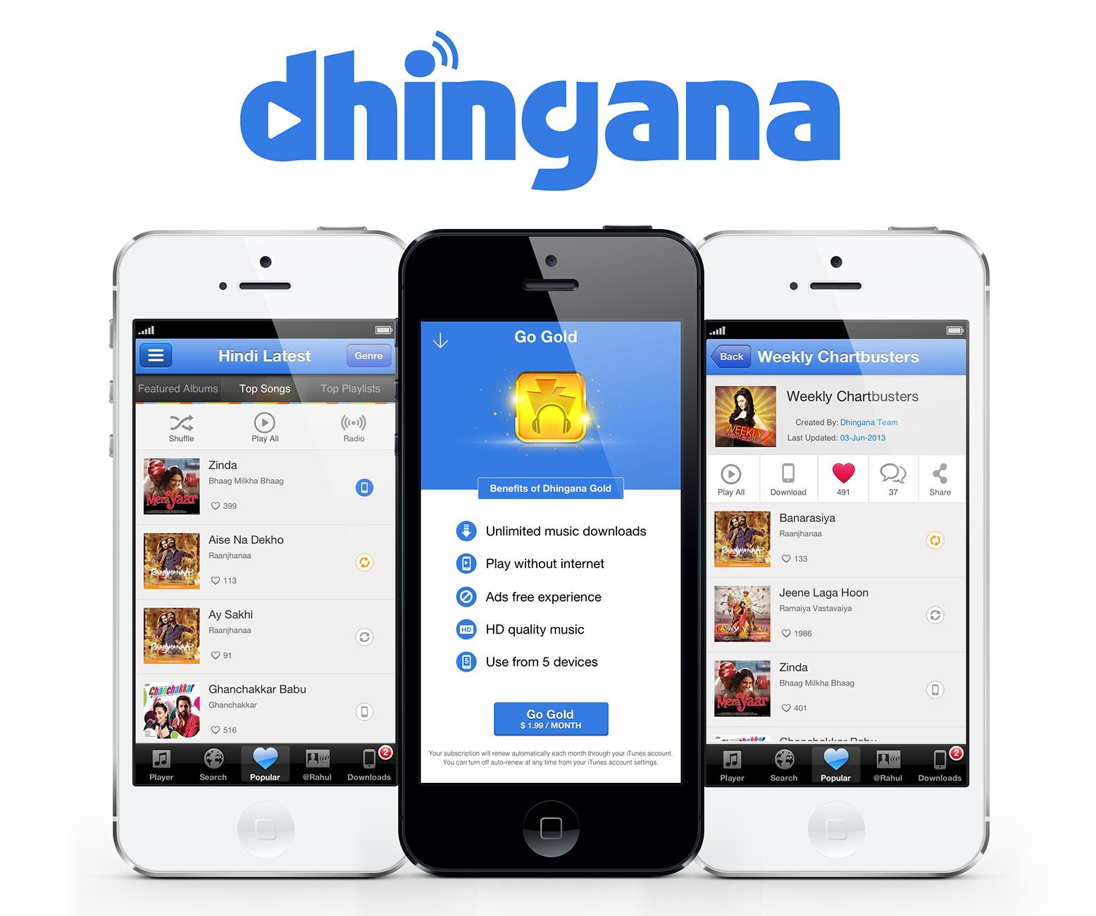 Rdio adquiere la plataforma de streaming Dhingana