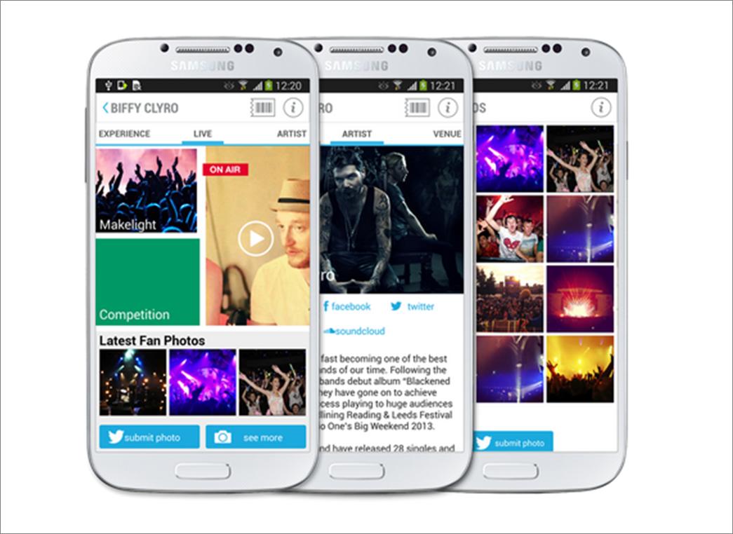 Samsung Smart Ticket: una revolución en el mundo del directo