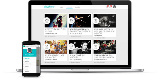 Placeband Web App