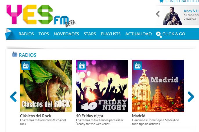 Prisa Radio estrena en fase beta la plataforma de streaming Yes.FM