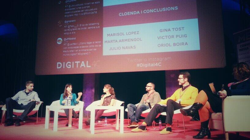 Digital 4C un evento que acerca el mundo digital y la cultura