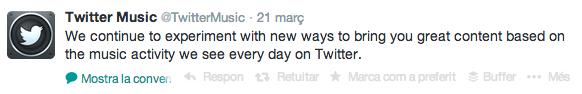 twitter music cierra
