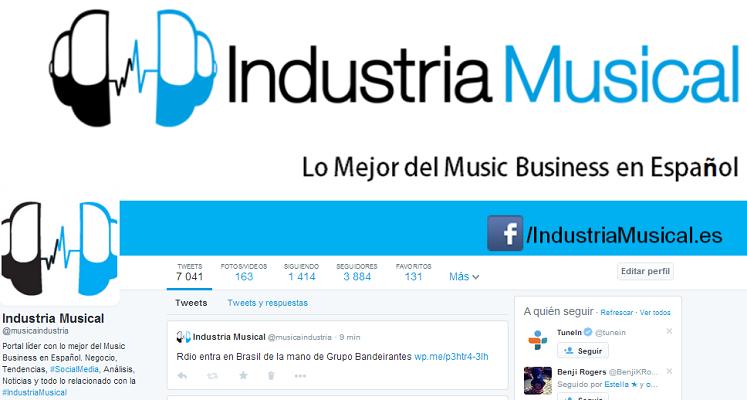Industria Musical  musicaindustria  en Twitter
