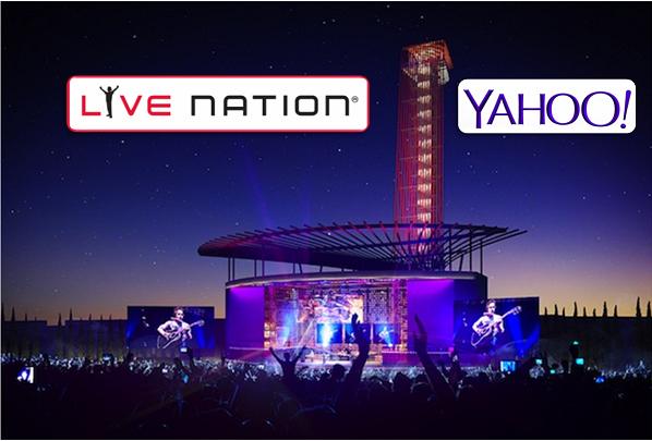 Análisis de la alianza entre Yahoo y Live Nation: La publicidad es el motor del directo