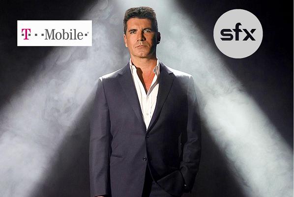 SFX Simon Cowell T-Mobile