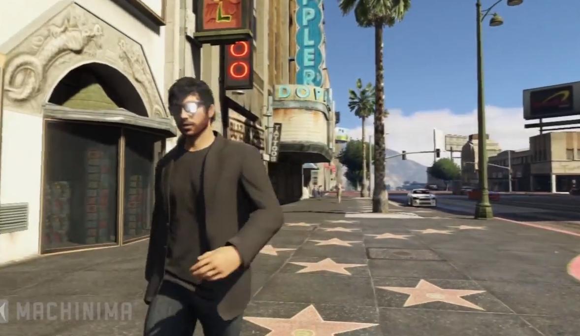 Grand Theft Auto: Mundo virtual para videoclips