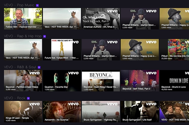 VEVO amplía su alianza con Yahoo