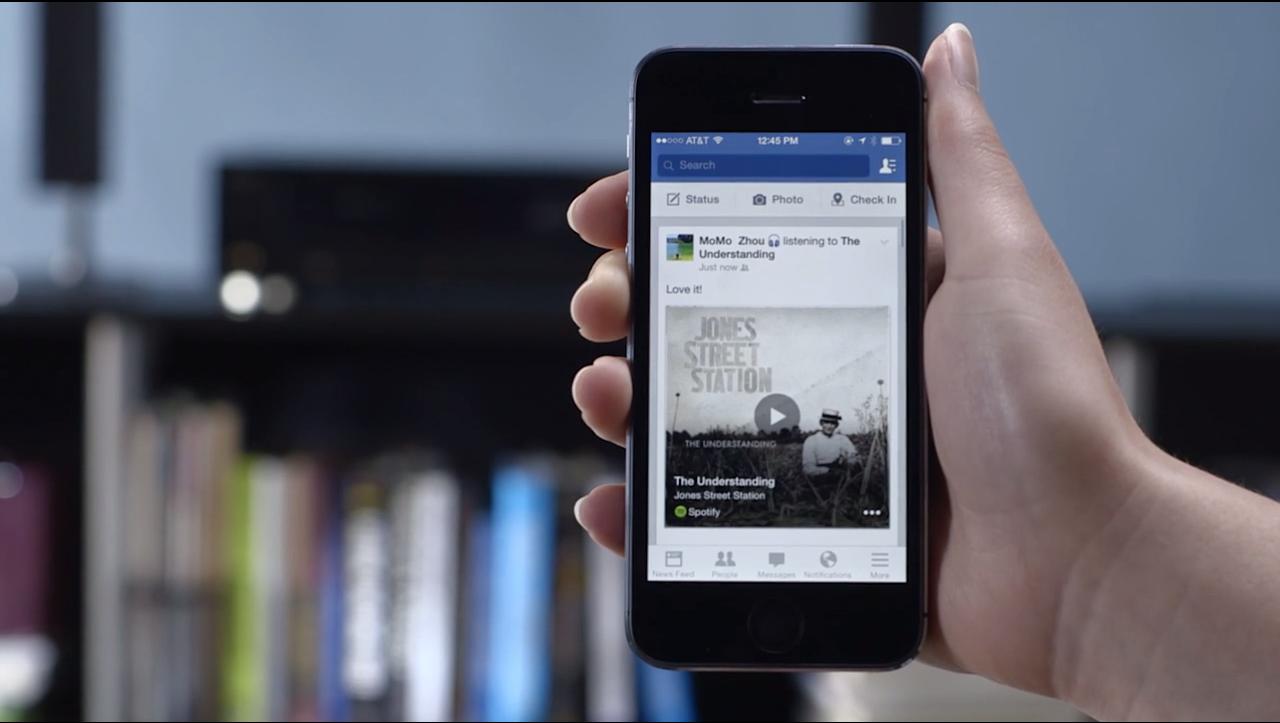 Facebook se lanza a la identificación de música y compite con Shazam