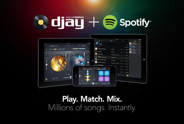 djay 2 y Spotify se unen para crear una nueva experiencia de mezcla de música