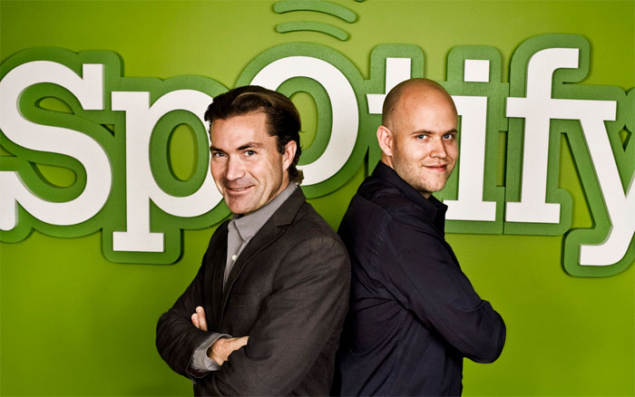 Spotify alcanza 10 millones de suscriptores