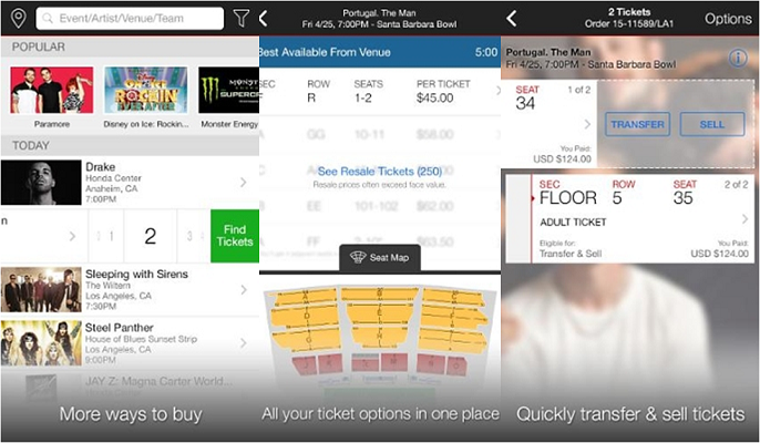Ticketmaster enriquece la experiencia del ticketing móvil