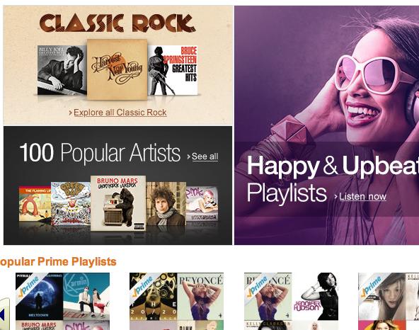 Amazon quiere ofrecer Prime Music a todo el mundo